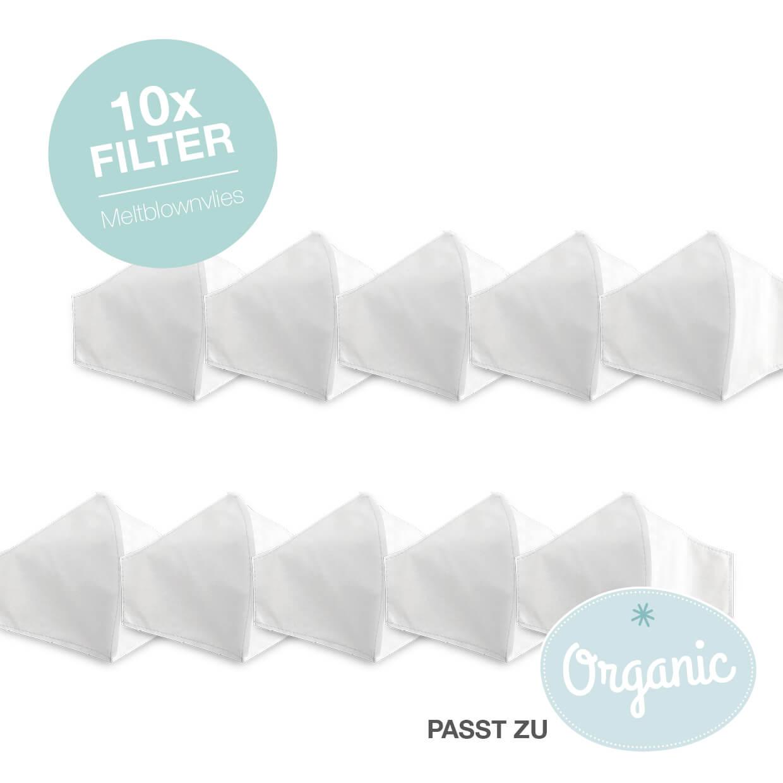 10 Stk. Meltblown-Filter für Organic- und Cradle-to-Cradle Maske - Kind