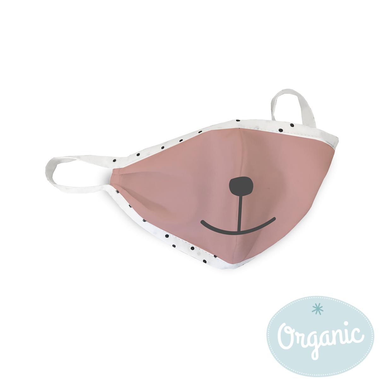 Medibino 3er Set Mund- und Nasenmaske für Kinder Biobaumwolle (Organic) - Parade Mix